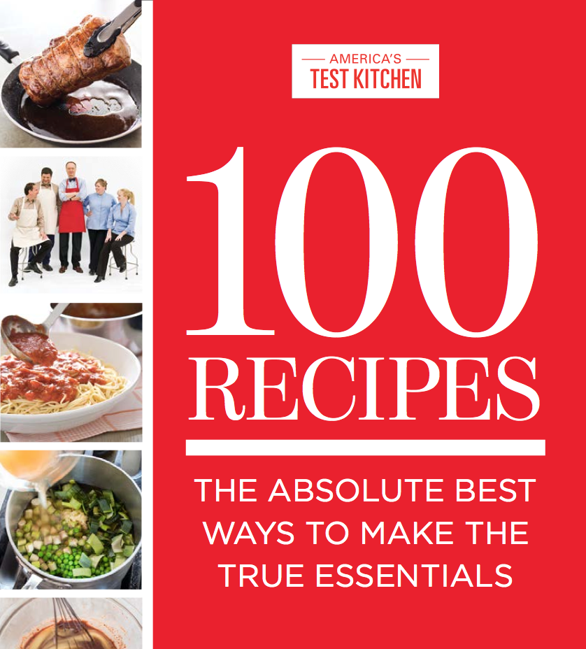 Americas Test Kitchen Goes Small with 100 Essential Recipes