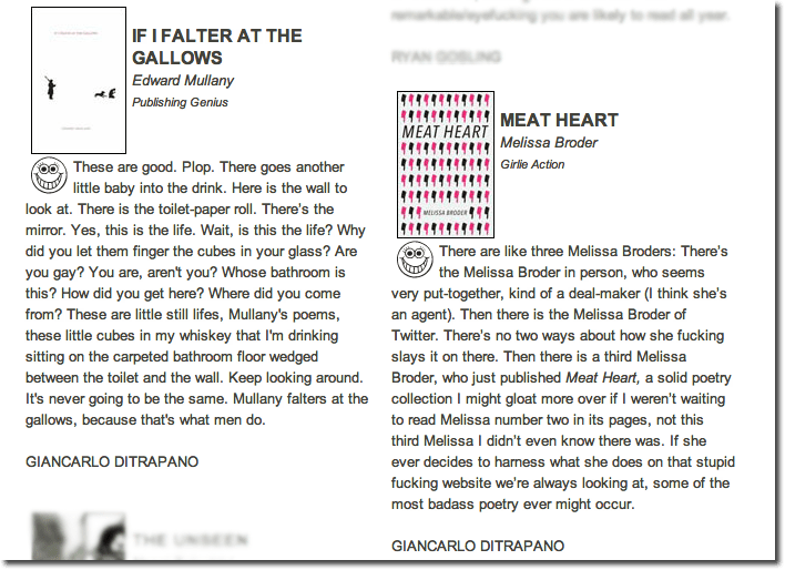 Vice Reviews of If I Falter and Meat Heart