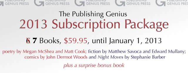 2013 Subscription Plan