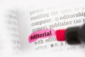 Editoring services for self-published books