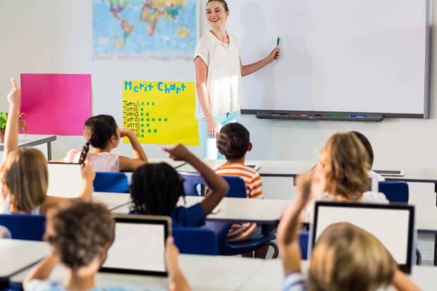 lekcje online, lekcje w szkole