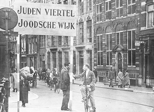 Open getto Amsterdam  Post uit de vergetelheid