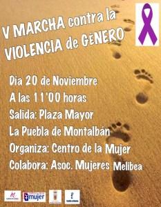 V Marcha contra la violencia de género