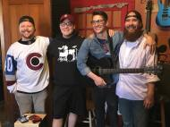Adrian, Kyle, Tony & Kai of Beyond Bridges Band