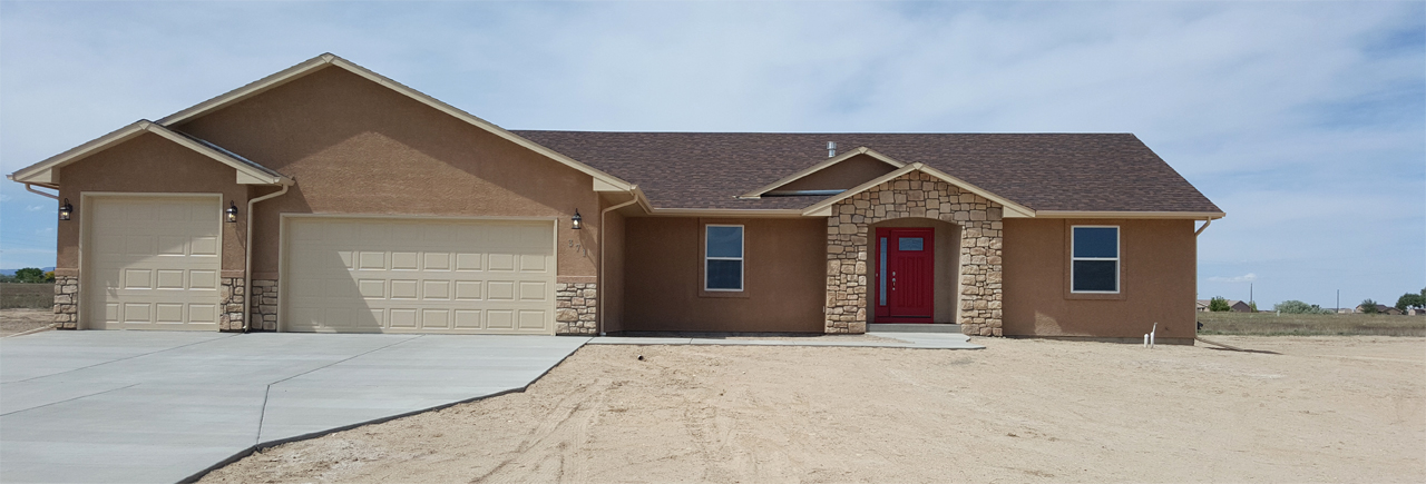 Cole construction new home builder in pueblo west co for Pueblo home builders