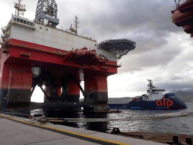"""El remolcador """"Alp Defender"""" se llevará la plataforma """"West Pegasus"""" a Noruega"""