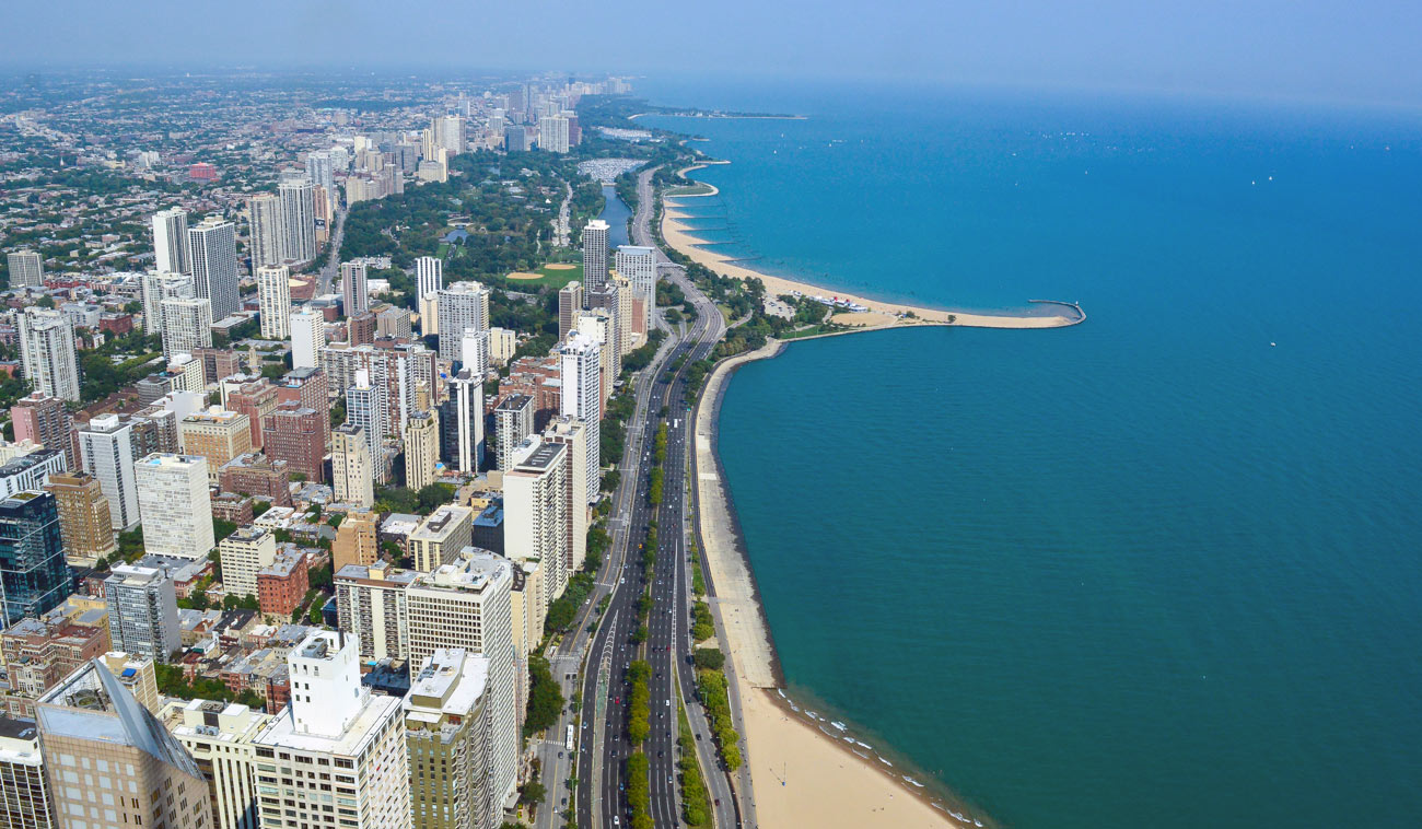 Vista aérea de Chicago