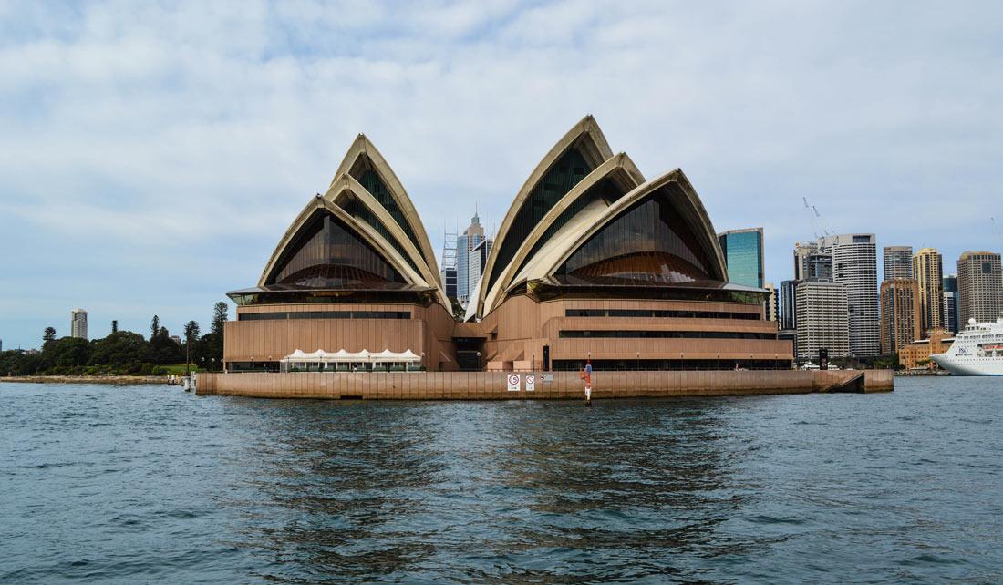 Opera House desde el agua