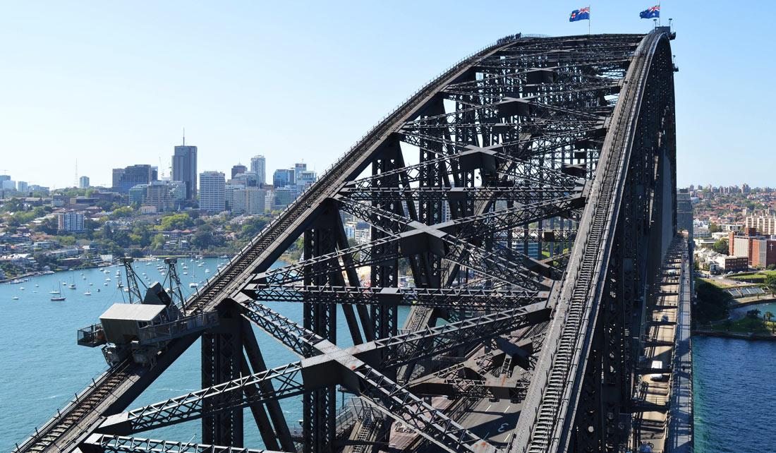 Sydney Harbour Bridge desde pylon lookout