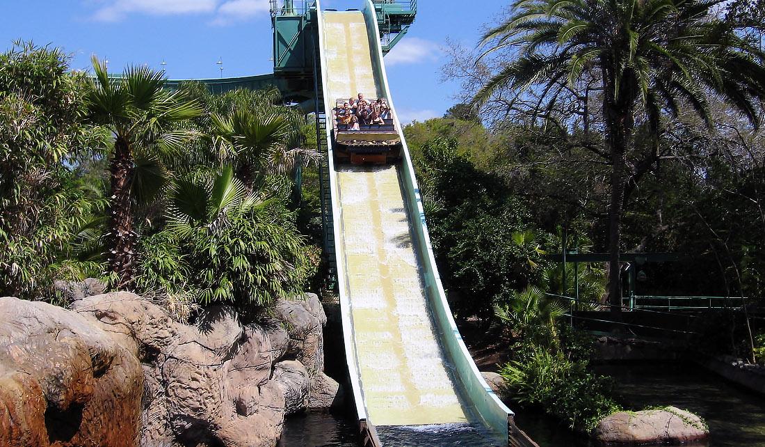 Stanley Falls Busch Garden. Tampa