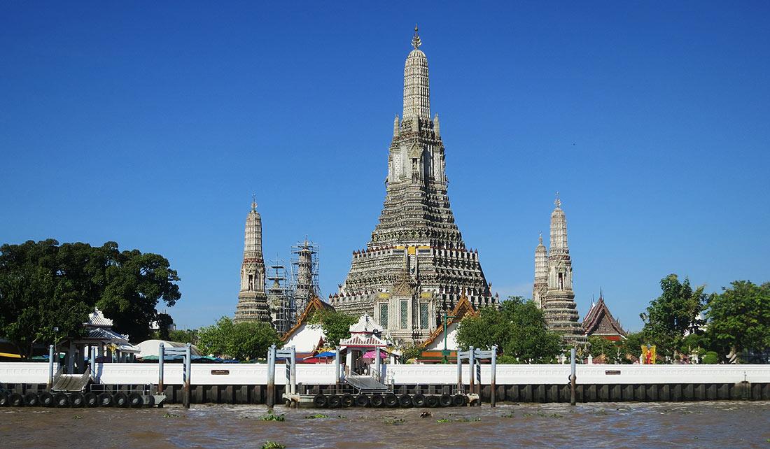 Wat Arun, el templo del amanecer