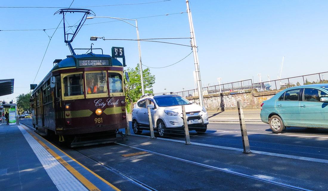Tranvías en Melbourne