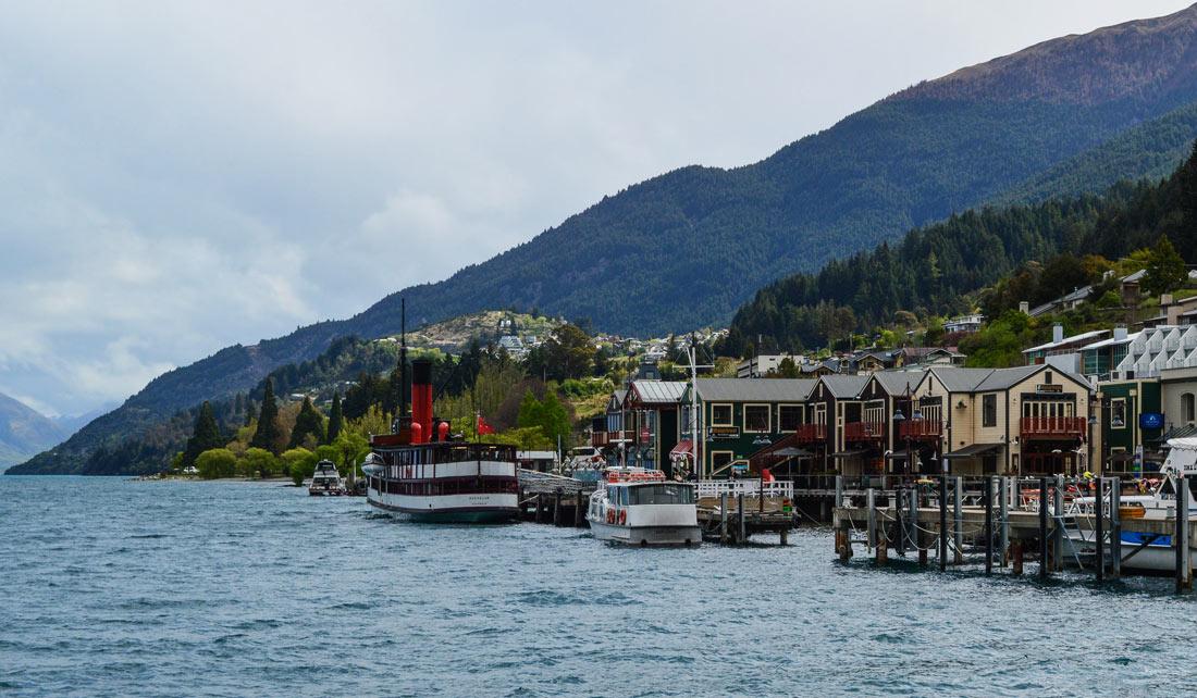 Paseo en barco por el Wakatipu
