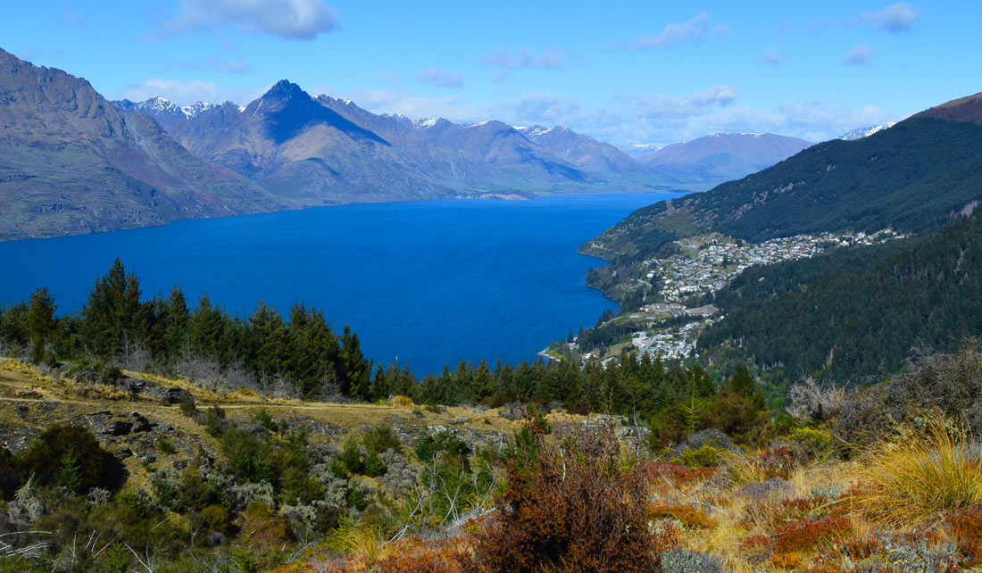 Vistas desde Queenstown Hill