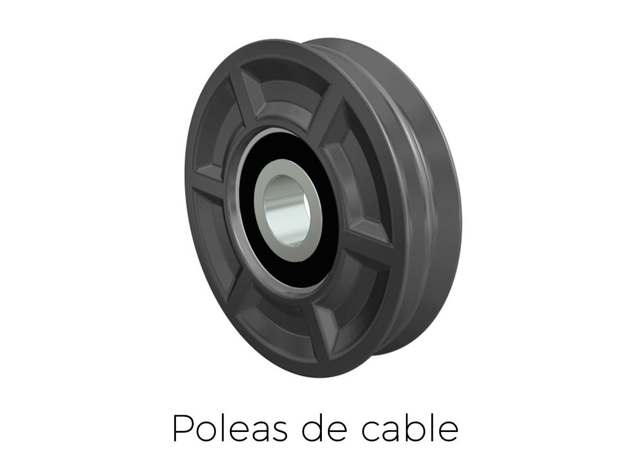 Poleas de cable