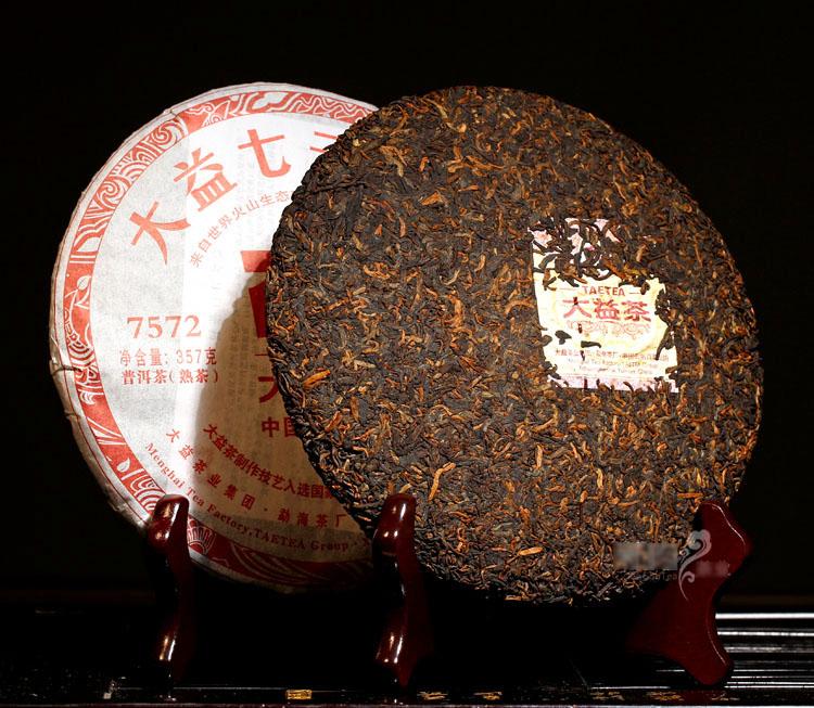 ชาผู่เอ๋อ ต้าอี้ 7572 2012 (9)