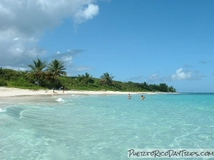 Flameco Beach on Culebra Island
