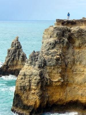 Falling Bridge Wallpaper Cliffs Natural Bridge Arches Near Cabo Rojo Lighthouse