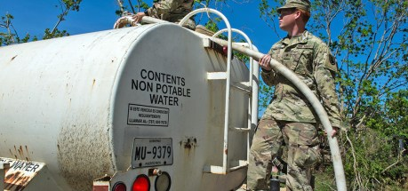 Natl Guard prepares for hurricane