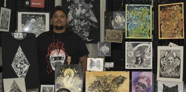 Artistas boricuas exponen su arte en el Puerto Rico Comic Con