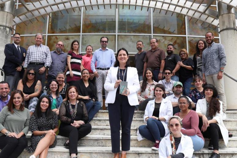 Equipo del Museo de Arte de Puerto Rico recibe una distinción especial