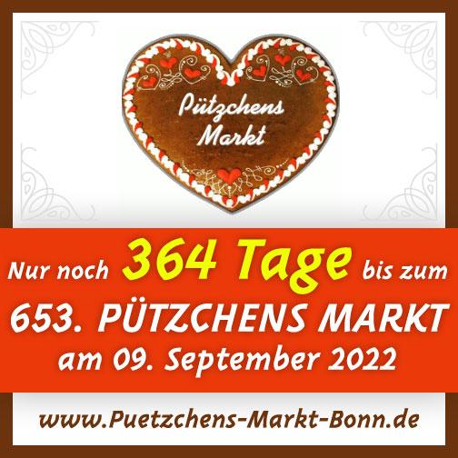 Nur noch 364 Tage bis zu Pützchens Markt