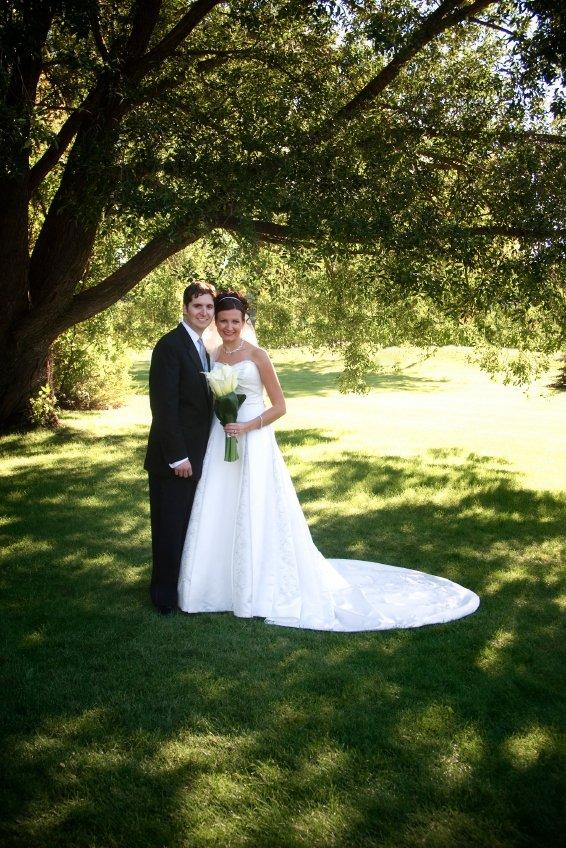 Die Grünflächen im egapark bieten gleichzeitig zahlreiche Motive für Hochzeitsfotos.
