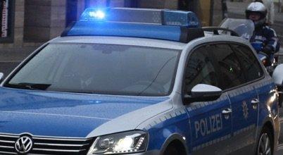 ▷ LPI-EF: Zivilbesatzung Stinkefinger gezeigt - Erfurt