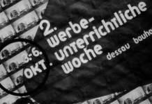"""""""wir schreiben alles klein…"""" – Vortrag über die Reklamewerkstatt am Bauhaus Dessau"""