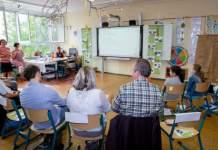 Ökoprofit-Club-Unternehmer treffen Schüler und Lehrer einer Erfurter Umweltschule