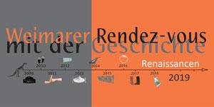 Logo Weimarer Rendezvous mit der Geschichte