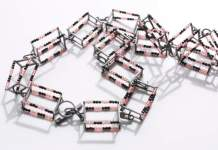 Eine Halskette