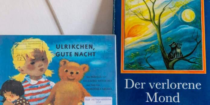 Zwei Kinderbücher.