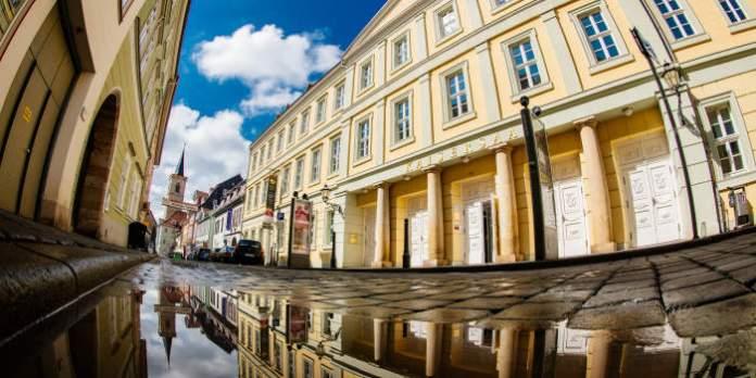 Der Kaisersaal in der Futterstraße ist eines der geschichtsträchtigsten Gebäude der Stadt. Napoleon war auch hier.