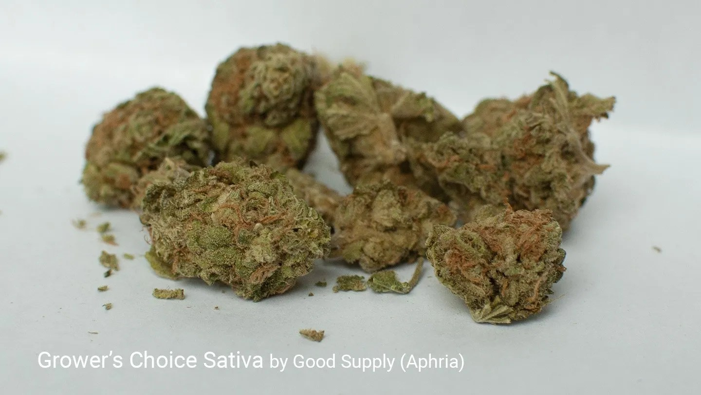 17.63% THC Grower's Choice Sativa by Good Supply