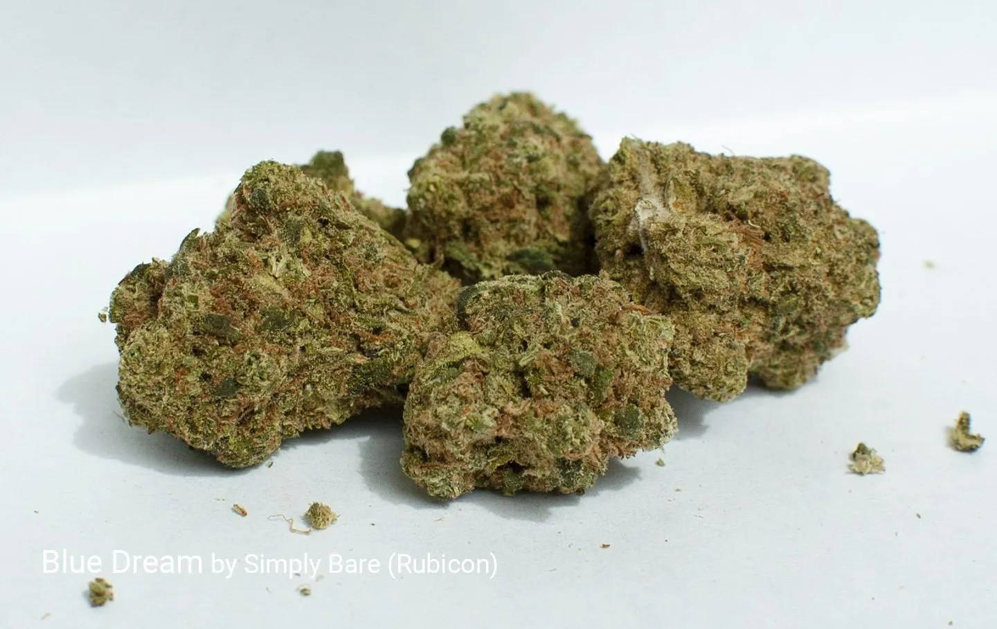 22.0% THC Blue Dream by Simply Bare