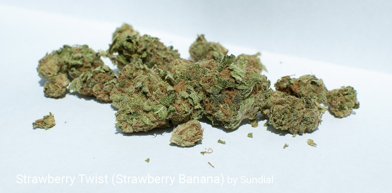 17.9% THC Strawberry Twist aka Strawberry Banana by Sundial