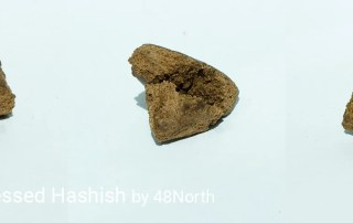 45.6% THC Traditional Pressed Hashish by 48North