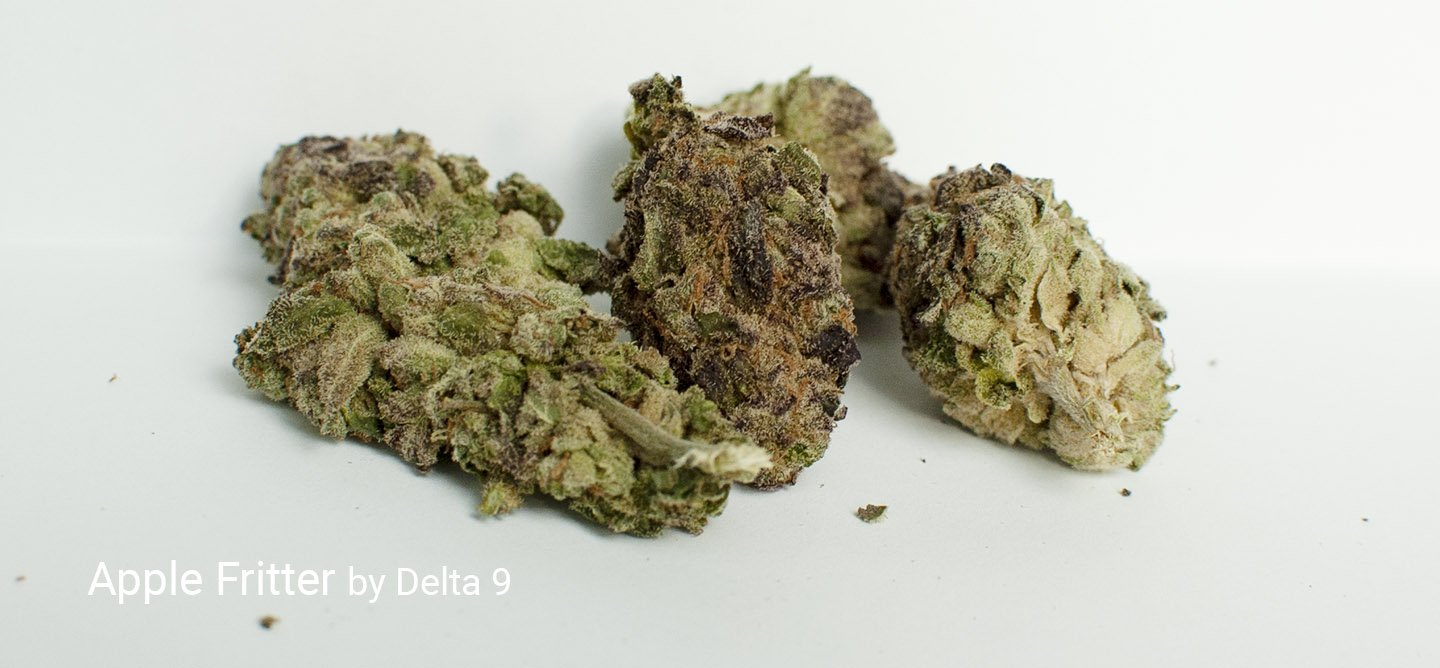 21.46% THC Apple Fritter by Delta 9