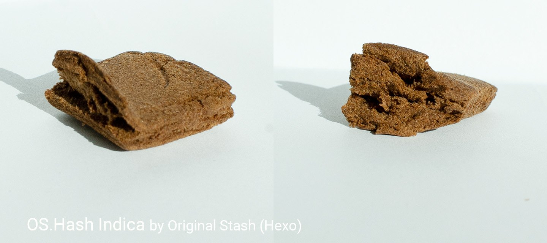 31.89% THC OS.Hash Indica Dry Sift Indica Hashish by Original Stash