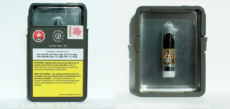 84.02% THC SLK Live Resin by Greybeard