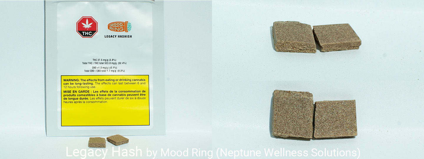 37.5% THC Legacy Hash by Mood Ring