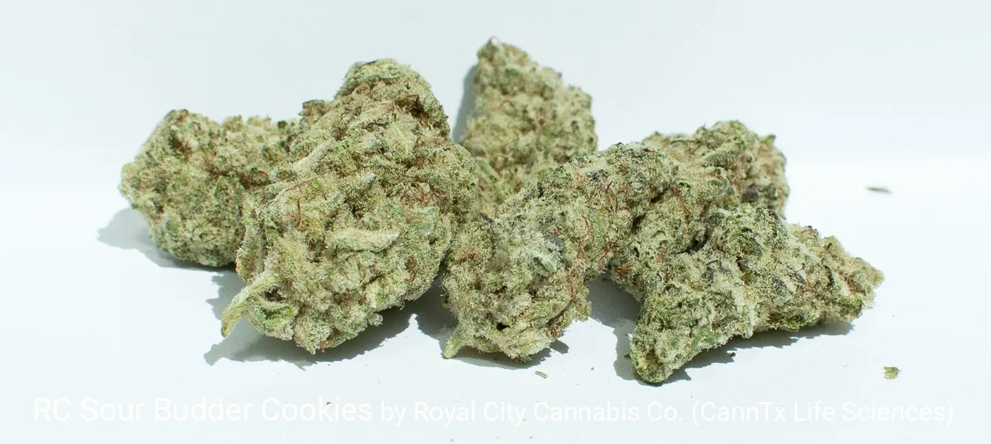22.47% THC 2.93% Terpenes RC Sour Budder Cookies by Royal City Cannabis Co.