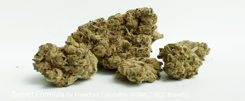 25.85% THC Secret Formula by Freedom Cannabis (WINK)