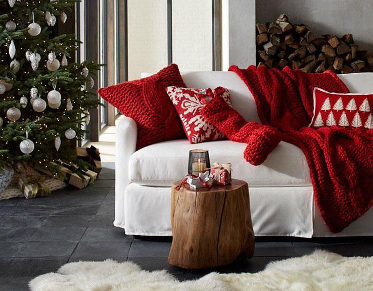 Christmas Inspirations By Crate Barrel Pufik Beautiful Interiors Online Magazine