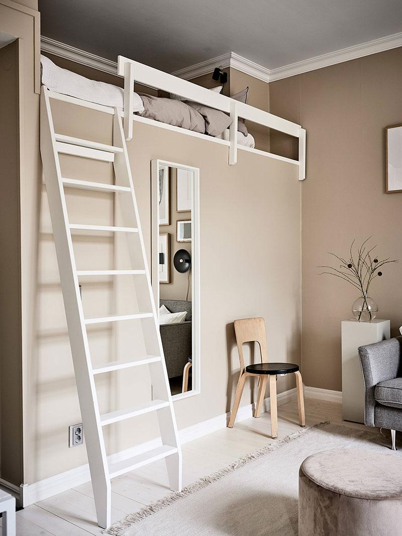 маленькая квартира в скандинавском стиле фото