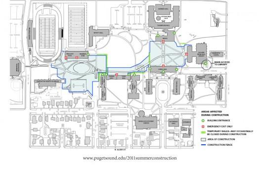 Construction Update · University of Puget Sound