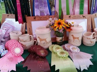 table of ribbons