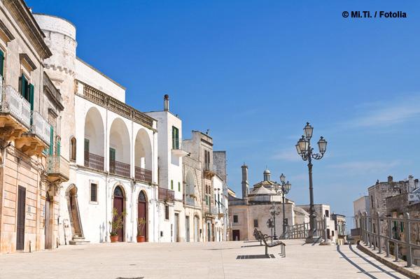 Cisternino  Ferienwohnungen am Meer  PugliaFeriende