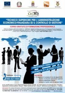 Corso gratuito Tecnico di amministrazione a Bari